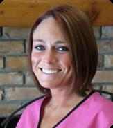 Kelley Dill, receptionist at Companion Care Veterinary Clinic